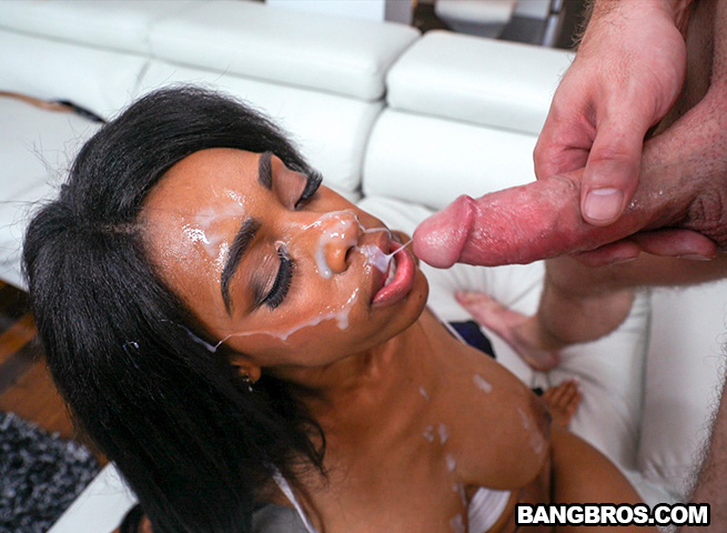 Big facial for brittney white